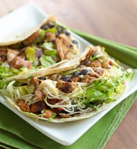 Tequila Chicken Tacos