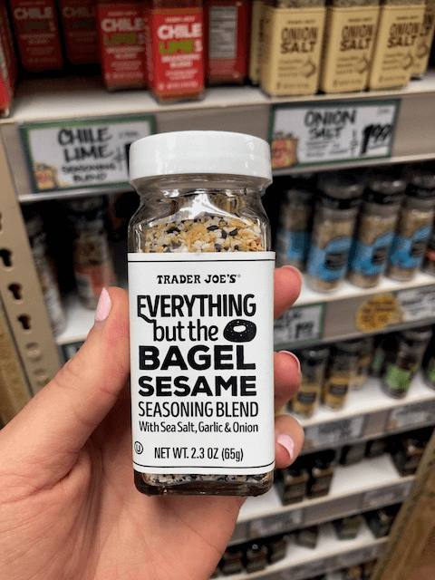 Everything but the bagel seasoning
