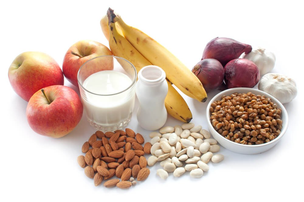 Fruit, dairy and nuts