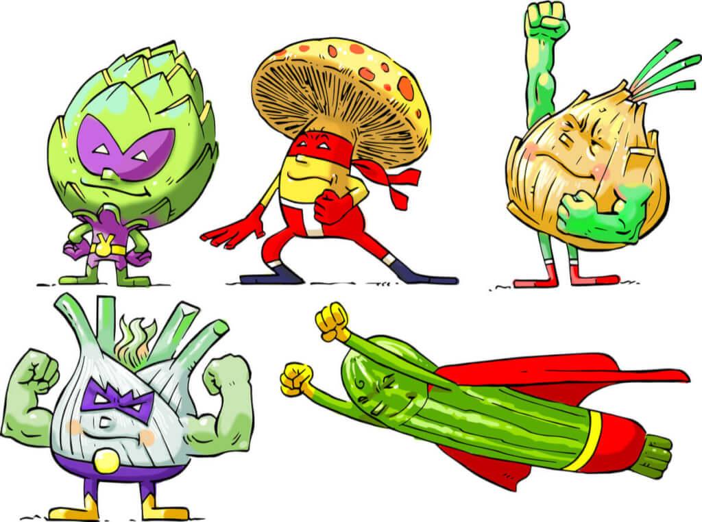 Super veggies