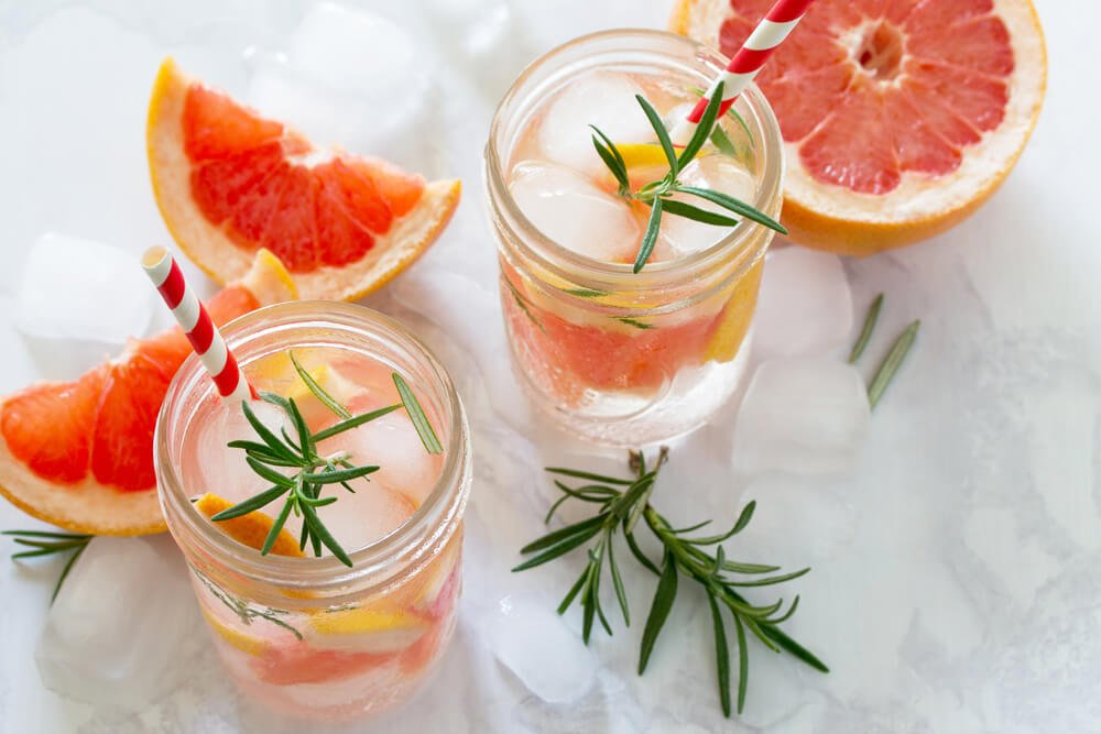 Grapefruit Thyme drink