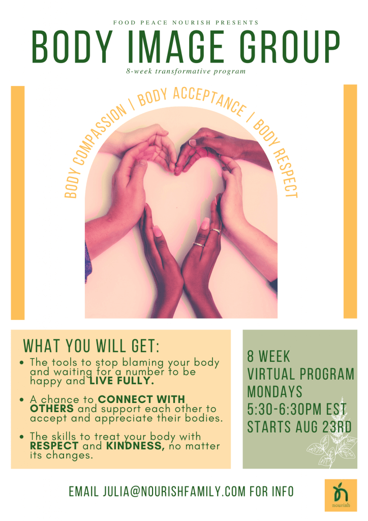 Body Image Support Group