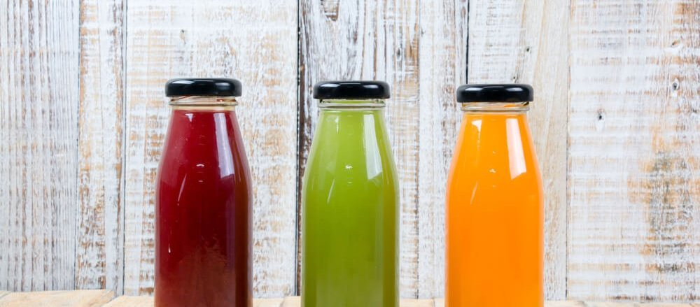 3 bottles of juice